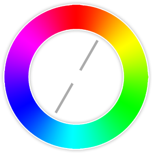 The Complementary Colors Are Which Directly Opposite From One Another On Color Wheel Contrasting And Stand Out
