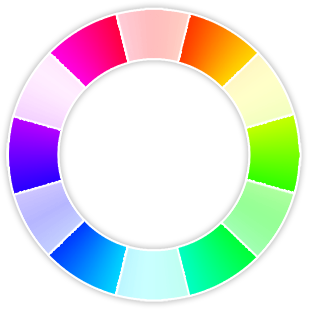 The secondary colors are also the primary colors in the subtractive color  system.